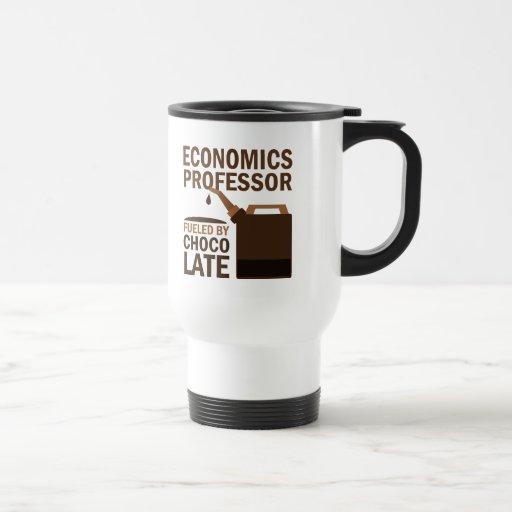 Profesor de economía regalo (divertido) taza de viaje