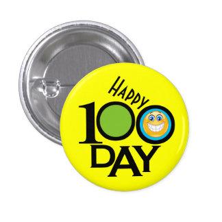 Profesor de escuela botón de 100 días - SRF Pin Redondo De 1 Pulgada