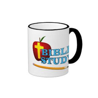 Profesor de escuela de la biblia taza de dos colores