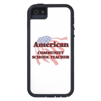 Profesor de escuela de la comunidad americano iPhone 5 fundas