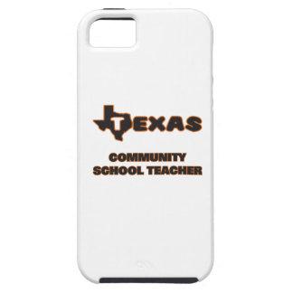 Profesor de escuela de la comunidad de Tejas iPhone 5 Carcasa
