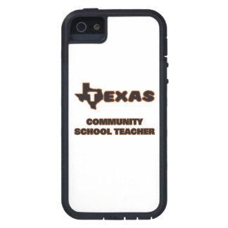 Profesor de escuela de la comunidad de Tejas iPhone 5 Carcasas