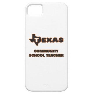Profesor de escuela de la comunidad de Tejas iPhone 5 Funda