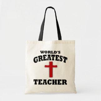 Profesor de escuela dominical bolsas