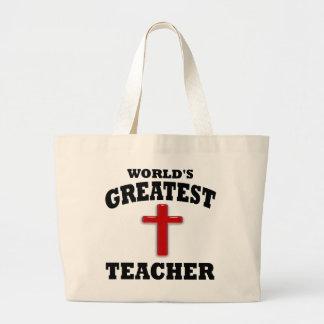 Profesor de escuela dominical bolsas de mano