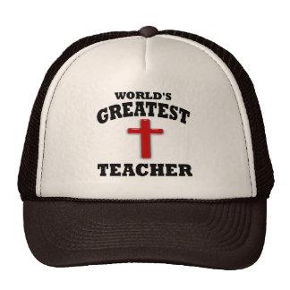 Profesor de escuela dominical gorros