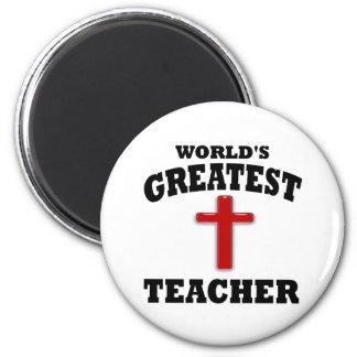 Profesor de escuela dominical imán para frigorifico