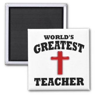 Profesor de escuela dominical iman de nevera