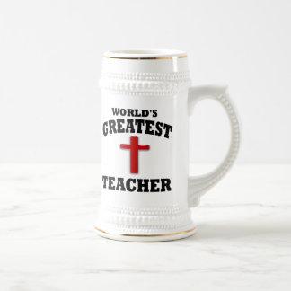 Profesor de escuela dominical taza