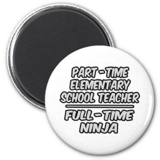 Profesor de escuela elemental por horas Ninja a ti Iman De Nevera