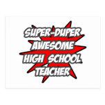 Profesor de escuela impresionante estupendo de Dup Postal