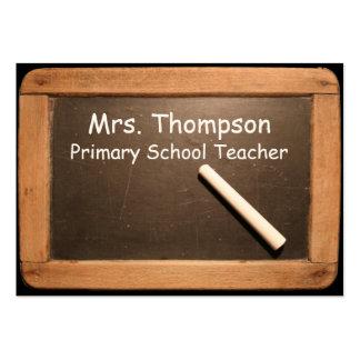 Profesor de escuela primario - tarjeta de visita
