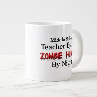 Profesor de escuela secundaria/cazador del zombi taza de café gigante