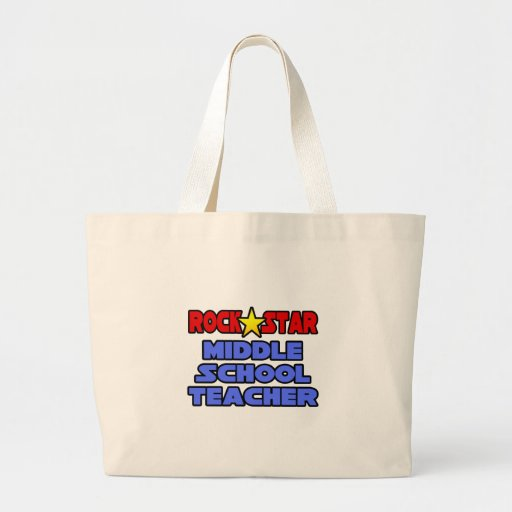Profesor de escuela secundaria de la estrella del  bolsas de mano