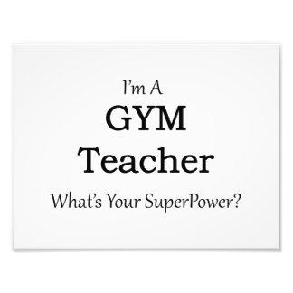 Profesor de gimnasio fotografías