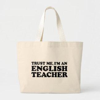 Profesor de inglés bolsas