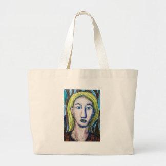 Profesor de inglés (expresionismo del retrato) bolsas de mano