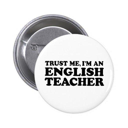 Profesor de inglés pin