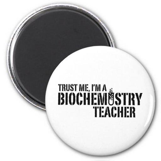 Profesor de la bioquímica imán de frigorífico