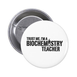 Profesor de la bioquímica pin redondo 5 cm