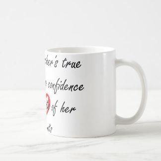 Profesor de la danza - confianza del edificio taza de café
