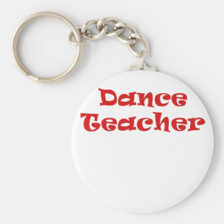 Profesor de la danza llavero