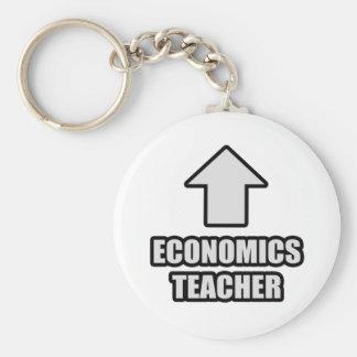 Profesor de la economía de la flecha llaveros personalizados