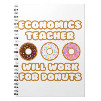Profesor de la economía. Trabajará para los Libros De Apuntes