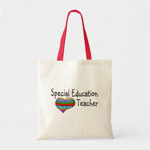 Profesor de la educación especial bolsa tela barata