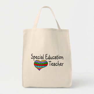 Profesor de la educación especial bolsa tela para la compra