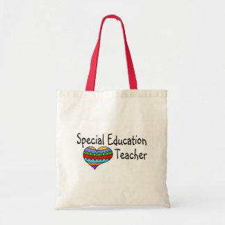 Profesor de la educación especial bolsas de mano