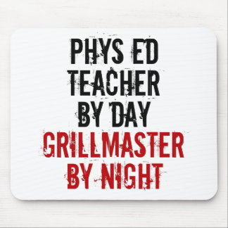 Profesor de la educación física de Grillmaster Mousepads