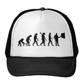 Profesor de la evolución gorras de camionero