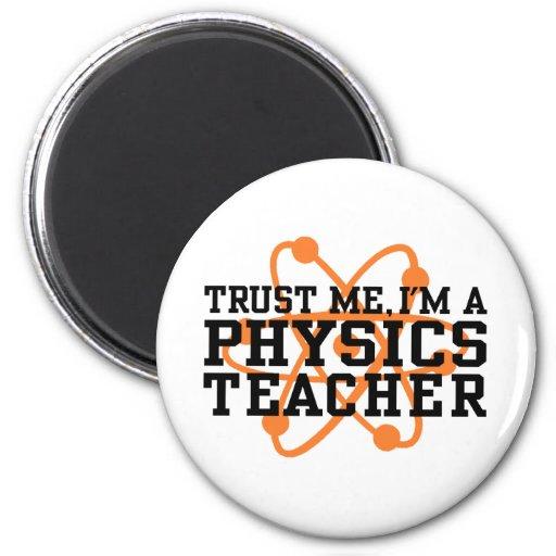Profesor de la física imanes para frigoríficos