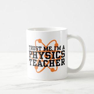Profesor de la física taza