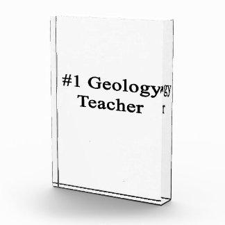 Profesor de la geología del número 1