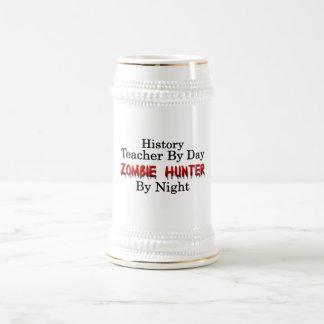 Profesor de la historia/cazador del zombi jarra de cerveza