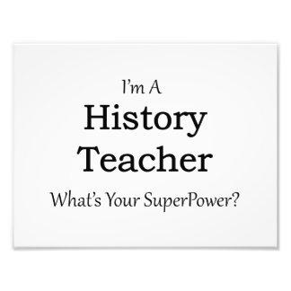 Profesor de la historia fotografías