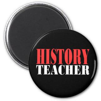 Profesor de la historia imán de frigorífico