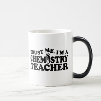 Profesor de la química tazas