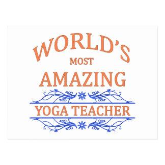 Profesor de la yoga postal