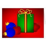 Profesor de las Felices Navidad Tarjetas