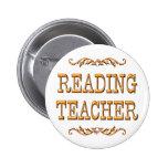 Profesor de lectura pins