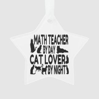 Profesor de matemáticas del amante del gato