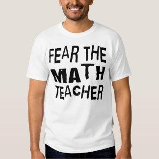 Profesor de matemáticas divertido poleras