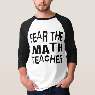 Profesor de matemáticas divertido remera