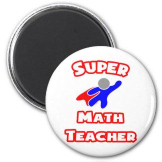 Profesor de matemáticas estupendo iman de frigorífico