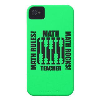 profesor de matemáticas fresco Case-Mate iPhone 4 carcasa