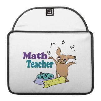 Profesor de matemáticas funda para macbooks