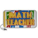 Profesor de matemáticas mini altavoz